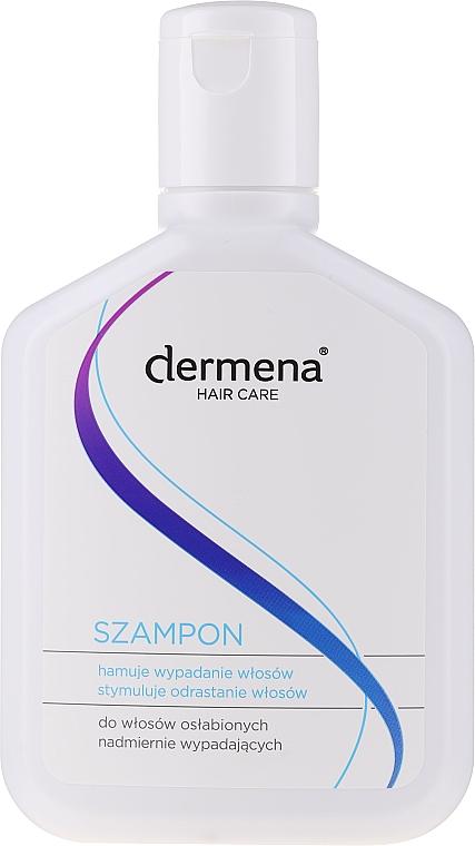 Stimulierendes Shampoo gegen Haarausfall und zum Wachstum - Dermena Hair Care Shampoo — Bild N3