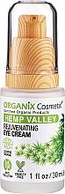 Düfte, Parfümerie und Kosmetik Verjüngende Augencreme mit Hanfsamenöl - Organix Cosmetix Hemp Valley Rejuvenating Eye Cream