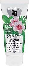Düfte, Parfümerie und Kosmetik Bio exfolierende Gesichtspaste für alle Hauttypen - AA Cosmetics Bio Natural Vegan Exfoliating Paste