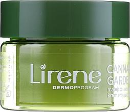Seboregulierende, mattierende und antibakterielle Gesichtscreme für fettige und Mischhaut - Lirene Cannabis Garden Mint & CBD — Bild N2
