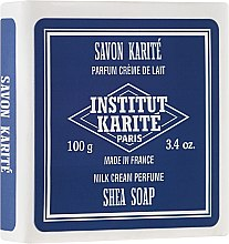 """Düfte, Parfümerie und Kosmetik Körperseife mit Sheabutter """"Milk Cream"""" - Institut Karite Milk Cream Shea Soap"""