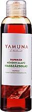 Düfte, Parfümerie und Kosmetik Olejek do masażu Papryka - Yamuna Paprika Plant Based Massage Oil