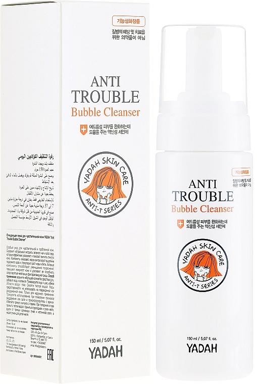 Reinigungsschaum für das Gesicht - Yadah Anti-Trouble Bubble Cleanser — Bild N1