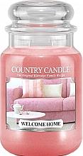 Düfte, Parfümerie und Kosmetik Duftkerze im Glas Welcome Home - Country Candle Welcome Home
