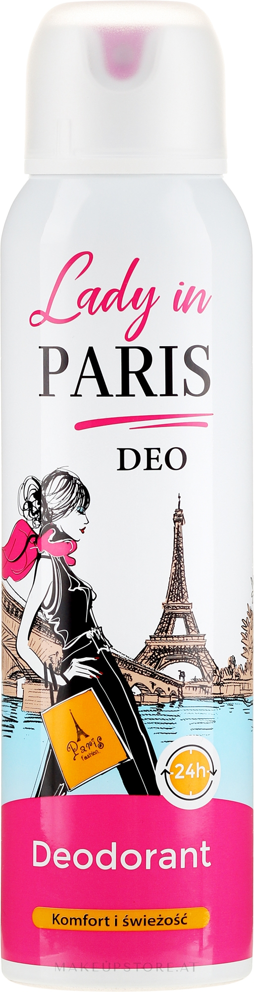 Deospray - Lady In Paris Deodorant — Bild 150 ml