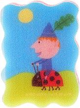 Düfte, Parfümerie und Kosmetik Kinder-Badeschwamm Ben & Holly's Little Kingdom Ben auf einem Marienkäfer - Suavipiel Ben & Holly