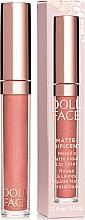 Düfte, Parfümerie und Kosmetik Flüssiger mattierender Lippenstift - Doll Face Matte Metallic Liquid Lip Color