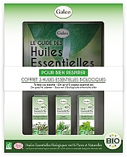 Düfte, Parfümerie und Kosmetik Körperpflegeset - Galeo To Help You Breath Gift Set (Ätherisches Öl 3x10ml)