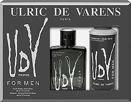 Düfte, Parfümerie und Kosmetik Ulric de Varens UDV - Duftset (Eau de Toilette 100ml + Deospray 200ml)