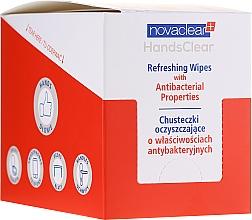 Düfte, Parfümerie und Kosmetik Erfrischende antibakterielle Feuchttücher - Novaclear Hands Clear Refreshing Wipe With Antibacterial Properties