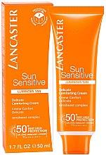 Düfte, Parfümerie und Kosmetik Sonnenschutzcreme für das Gesicht - Lancaster Sun Sensitive Delicate Comforting Cream SPF 50+