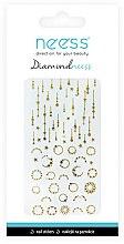Düfte, Parfümerie und Kosmetik Dekorative Nagelsticker 3714 - Neess Diamondneess