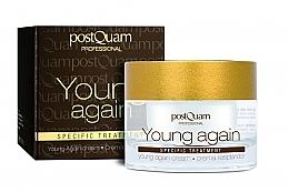 Düfte, Parfümerie und Kosmetik Verjüngende und regenerierende Creme für Gesicht, Hals und Dekolleté - PostQuam Young Again Cream