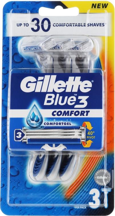Einwegrasierer 3 St. - Gillette Blue 3 Comfort