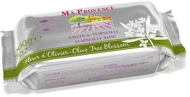 Marseiller Seife mit Olivenblüten - Ma Provence Marseille Soap