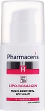 Düfte, Parfümerie und Kosmetik Beruhigende Gesichtscreme für trockene, normale und empfindliche Haut - Pharmaseris R Lipo Rosalgin Multi-Soothing Cream