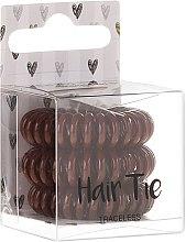 Düfte, Parfümerie und Kosmetik Haargummis 3 St. - Cosmetic 2K Hair Tie Brown