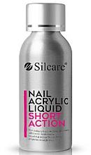 Düfte, Parfümerie und Kosmetik Acryl-Flüssigkeit - Silcare Nail Acrylic Liquid Comfort Short Action