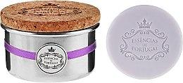 Düfte, Parfümerie und Kosmetik Seife mit Lavendelöl im Aluminum-Box - Essencias De Portugal Tradition Aluminum Jewel-Keeper Lavender