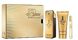 Düfte, Parfümerie und Kosmetik Paco Rabanne 1 Million - Duftset (Eau de Toilette/50ml + Duschgel/100ml + Eau de Toilette/10ml)