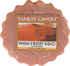 Düfte, Parfümerie und Kosmetik Duftendes Wachs - Yankee Candle Warm Desert Wind Tart Wax Melt