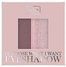Düfte, Parfümerie und Kosmetik Lidschatten Duo - Wibo I Choose What I Want Duo Eyeshadow