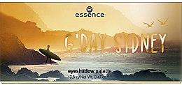 Düfte, Parfümerie und Kosmetik Lidschatten-Palette - Essence G'Day Sydney Eyeshadow Palette