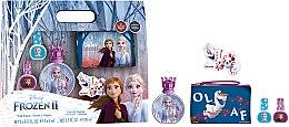 Düfte, Parfümerie und Kosmetik Disney Frozen II - Duftset (Eau de Toilette 50ml + Nagellack 2x5ml + Kosmetiktasche)
