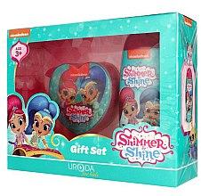 Düfte, Parfümerie und Kosmetik Kinderset - Uroda For Kids Shimmer & Shine (Duschgel 250ml + Badeschwamm)