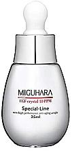 Düfte, Parfümerie und Kosmetik Feuchtigkeitsspendende Anti-Aging Gesichtsampulle - Miguhara EGF Crystal 10 PPM