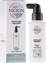 Düfte, Parfümerie und Kosmetik Feuchtigkeitsspendende Kopfhautpflege für normales und kräftiges Haar - Nioxin Thinning Hair System 1 Scalp Treatment