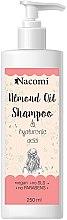 Düfte, Parfümerie und Kosmetik Pflegeshampoo mit Mandelöl, Hyaluronsäure und Reisprotein - Nacomi Almond Oil Shampoo