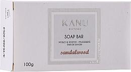 Düfte, Parfümerie und Kosmetik Mydło w kostce do rąk i ciała Drzewo sandałowe - Kanu Nature Soap Bar Sandalwood