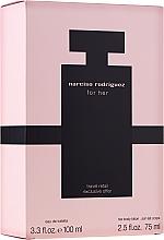 Düfte, Parfümerie und Kosmetik Narciso Rodriguez For Her - Duftset (Eau de Toilette 100ml + Körpercreme 75ml)