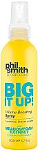 Düfte, Parfümerie und Kosmetik Haarspray für mehr Volumen mit Sumpfblumenextrakt - Phil Smith Be Gorgeous Big It Up Volume Boosting Spray