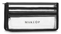 Düfte, Parfümerie und Kosmetik Kosmetiktasche Allvisible transparent 25x13x5 cm - MakeUp