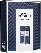 Düfte, Parfümerie und Kosmetik David Beckham Classic Blue - Duftset (Körperspray/75ml + Deodorant/150ml)