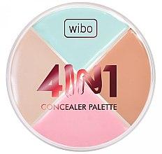 Düfte, Parfümerie und Kosmetik 4in1 Concealer-Palette - Wibo 4in1 Concealer Palette