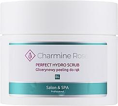 Düfte, Parfümerie und Kosmetik Glycerin-Peeling für die Hände - Charmine Rose Perfect Hydro Scrub