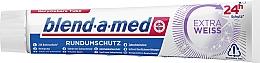 Düfte, Parfümerie und Kosmetik Zahnpasta Extra Weiss für Rundumschutz  - Blend-a-med Extra White Toothpaste