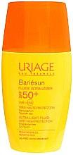 Düfte, Parfümerie und Kosmetik Ultra leichtes Sonnenschutzfluid für das Gesicht SPF 50+ - Uriage Bariesun Ultra-Light Fluid SPF50+