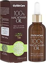 Düfte, Parfümerie und Kosmetik 100% Organisches Macadamiaöl für Haut, Haar und Nägel - GlySkinCare Macadamia Oil 100%