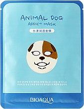 Düfte, Parfümerie und Kosmetik Tuchmaske für das Gesicht mit Aloe Vera - Bioaqua Animal Dog Addict Mask