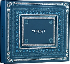 Düfte, Parfümerie und Kosmetik Versace Man Eau Fraiche - Duftset (Eau de Toilette 100ml + Duschgel 150ml + Eau de Toilette 10ml)