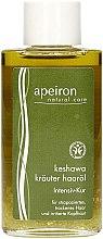 Düfte, Parfümerie und Kosmetik Haaröl mit Kräutern für strapaziertes, trockenes Haar und irritierte Kopfhaut - Apeiron Keshawa Herbal Hair Oil