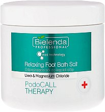 Düfte, Parfümerie und Kosmetik Entspannendes Fußbadesalz - Bielenda PodoCall Therapy Relaxing Foot Bath Salt
