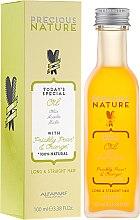 Düfte, Parfümerie und Kosmetik Mehrzwecköl für langes und glattes Haar mit Kaktusfeige und Orange - Alfaparf Precious Nature Oil For Long & Straight