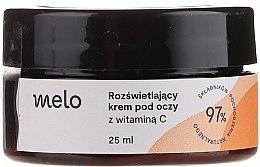 Düfte, Parfümerie und Kosmetik Aufhellende Creme für die Augenpartie mit Vitamin C - Melo