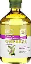 Düfte, Parfümerie und Kosmetik Beruhigendes Shampoo mit Lakritzextrakt für empfindliche Kopfhaut - O'Herbal