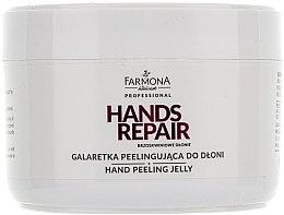Düfte, Parfümerie und Kosmetik Reparierendes Handpeeling mit Pfirsichextrakt - Farmona Professional Hands Repair Peach